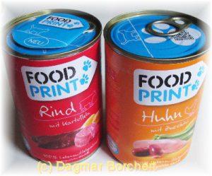 Food Print - ziemlicher hoher Jodbestandteil -  Rückverfolgung der Futterbestandteile