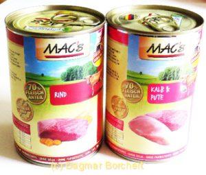 Einziges Katzenfutter ohne Cassia Gum: MAC's